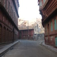 streets of the old city of bikaner, Биканер