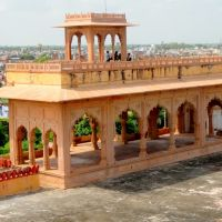 Enjoy the Panoramic View of Bharatpur from Kachahari Top, Lohagarh, Bharatpur, Бхаратпур