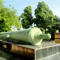 Cannon used by Jat Rulers of Lohagar, Bharatpur, Бхаратпур