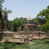 Kota, cremation grounds of maharajas, Кота