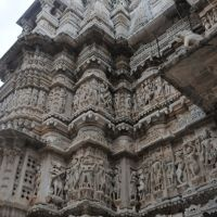 Temple facade, Удаипур