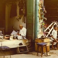 Udaipur Craft shops 1980...© by leo1383, Удаипур