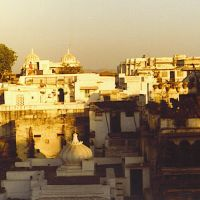 Udaipur 1980 panorama from City Palace...© by leo1383, Удаипур