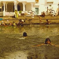 Udaipur 1980 Lake swimming ...© by leo1383, Удаипур