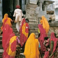 Subiendo al templo Jagdish - Udaipur, Удаипур
