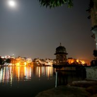 Udaipur by night, Удаипур
