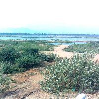 Kaveri river near Trichy, Ерод