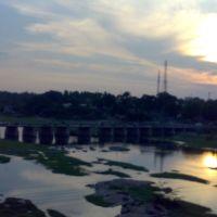 AMARAVATHI RIVER AT KARUR, Карур