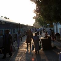 Karur Station in the morning., Карур