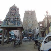 Sarangapani Temple, Kumbakonam, Gopuram, Кумбаконам
