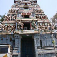 DSC08034 சிவ சிவ  Shiv Shiv-ஸ்ரீ நாகேஸ்வரர் கோவில் மேற்கு கோபுரம், Кумбаконам