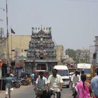 DSC08039 ஸ்ரீ காமாக்ஷி சமேத ஏகாம்பரேஸ்வரர் கோவில்  Shri Kaamakshi Samaedha Ekaambareshwarar Temple(water Tank Behind), Кумбаконам
