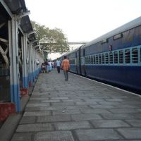Railway Station_Kum, Кумбаконам