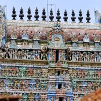 Top of the Sarangapani Temple Tower (https://picasaweb.google.com/Jun.Luo.2k?showall=true#100), Кумбаконам