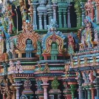 Madurai, Meenakshi-Amman-Tempel., Мадурай