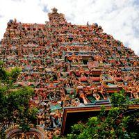 Sky High Entrace of Minakshi Temple, Madurai, Мадурай