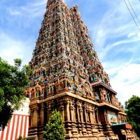 Temple at Minakshi Temple Complex, Madurai, Мадурай