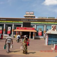Madurai rail way station   (Ramareddy Vogireddy), Мадурай