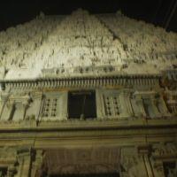 Shri Arunaachalaeswarar  Temple Thiruvannamalai - by night   ஸ்ரீ அருணாச்சலேஸ்வரர் கோயில் திருவண்ணாமலை  - இரவில் శ్రీ అరునాచాలేస్వరర్  ఆలయం తిరువన్నమలై श्री अरुणाचलेस्वरर  मंदिर तिरुवन्नमलई- रात मे  0030, Тируваннамалаи