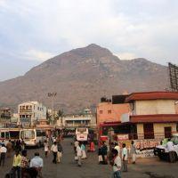DSC08349 திருவண்ணாமலை & பேருந்து நிலையம் Thiruvannamalai Hill From Bus Stand  06.51.18, Тируваннамалаи