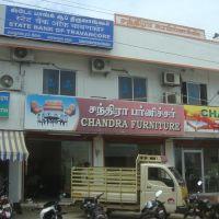 சந்திரா காம்ப்ளக்ஸ்  Chandra Complex -  State Bank Of Travancore  - Chandra Furniture Samaadhaanapuram   6240, Тирунелвели