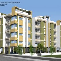 """CRESCENT AVENUE""-residential appartment by B and A  prime developers(P)ltd, Тирунелвели"