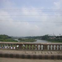 9099 தாமிரபரணி ஆறு   திருநெல்வேலியில்  - Tamiraparani River at Thirunelveli, Тирунелвели