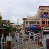 DSC03681 இந்திரா காந்தி சிலை-புத்தூர் நால் ரோடு அருகில் Indira Gandhi Statue  16.42.31, Тируччираппалли