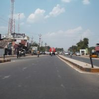 Thanjavur Road Junction  at Thiruchchy  -  Angaalamman Hotel,  Hotel Vaazhai, Raajeswari Hotel  9421., Тируччираппалли