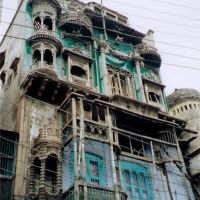 Agra आगरा - una casa... [ago 02], Агра