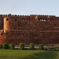 A Panorama of Agra Fort, Агра