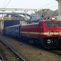 Aligarh Railway Station in the morning, Алигар
