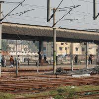 Dpak Malhotra, Platform, इलाहबाद रेलवे स्टेशन, Allahabad Junction, दिल्ली - बिहार - बंगाल - असम रेल मार्ग, उत्तर प्रदेश राज्य भारत, Uttar Pradesh, Bharat, Аллахабад