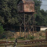 Dpak Malhotra, Water Tank, इलाहबाद रेलवे स्टेशन, Allahabad Junction, दिल्ली - बिहार - बंगाल - असम रेल मार्ग, उत्तर प्रदेश राज्य भारत, Uttar Pradesh, Bharat, Аллахабад