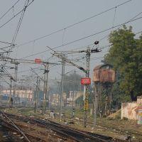 Dpak Malhotra, Zig Zag of Railway Lines, इलाहबाद रेलवे स्टेशन, Allahabad Junction, दिल्ली - बिहार - बंगाल - असम रेल मार्ग, उत्तर प्रदेश राज्य भारत, Uttar Pradesh, Bharat, Аллахабад