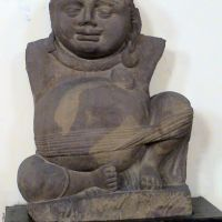 Kuber - Vedic God of wealth  & prosperity , Government Museum, Mathura, Будаун