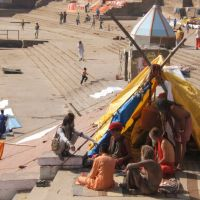sadhu a varanasi, Варанаси