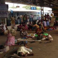 Train Station, Varanasi, Варанаси
