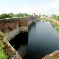 Lohagarh fort wall in North, Bharatpur,Raj., India, Гхазиабад
