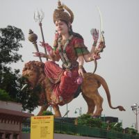 Vaishno devi murti in Mathura  India., Етавах
