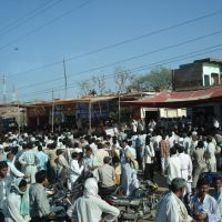 Election meeting, Agra uptown, Йханси