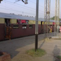 Panki Barabanki Passanger at Platform No.2 of Govindpuri Station, Kanpur, Канпур
