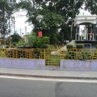 Roundabout while going towards Amroha from Moradabad, Морадабад