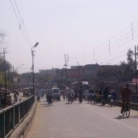At Flyover from Sambhal Chowk to Karula, Морадабад
