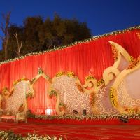 Wedding Stage by OM Caterers, Рампур