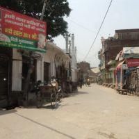 A street scene in Sambhal, Самбхал