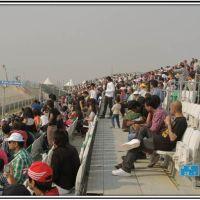 Indian fans at B.I.Circuit, Хатрас