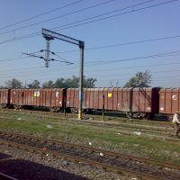 A VIEW OF INDIAN GOODS TRAIN 2011-- BY-GURMEJ SINGH VIRK 9465177443, Амбала