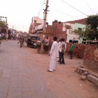 Road towards Dadri Gate at  Dhana Ladanpur - Bhiwani Road Dist. Bhiwani Haryana, Бхивани
