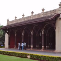 Tipu Sultan Palace-Bangalore, Karnataka, India., Бангалор